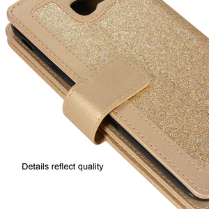 Image 4 - 2019 ซิปสำหรับ Samsung S10 PLUS S9 S8 หมายเหตุ 8 9 PU หนัง Glitter กระเป๋าสตางค์โทรศัพท์สำหรับ Samsung S7 EDGE