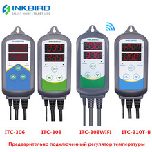 Inkbird 4 Type Temperature Controller Heating and Cooling dual relay For Carboy Greenhouse Terrarium aquarium Brewing цена 2017