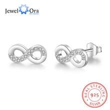 df84fb801ff7 Infinity Love 925 Plata de Ley Zirconia cúbica pendiente de moda accesorios  para fiestas pendientes para mujer (joyería EA101984.