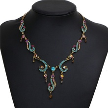 цена Europe and the United States fashion jewelry best-selling retro texture pendant female models necklace accessories в интернет-магазинах