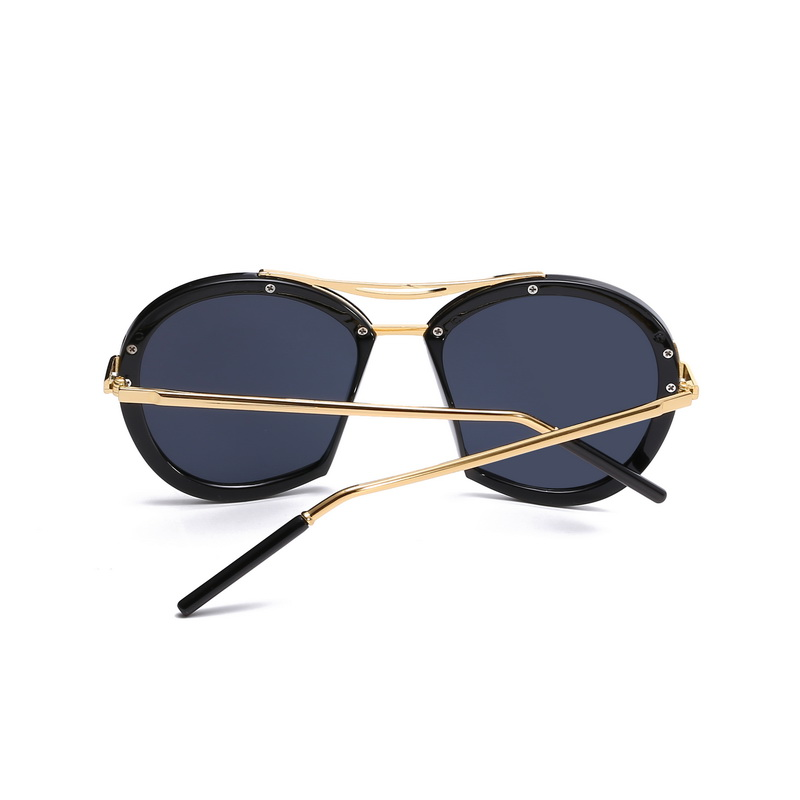 7c1856bbcd F.J4Z New Stunning Design Men s Sunglasses Fashion Round Trimming Gradient  Lenses Women s Eyewear Unisex Shades UV400-in Sunglasses from Apparel  Accessories ...