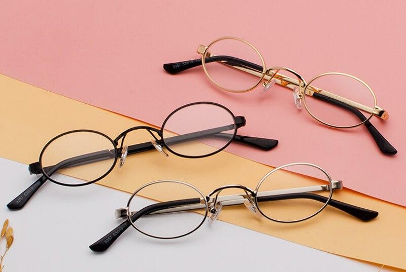 Tiny Oval Sunglasses Men detail (4)