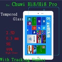 2pcs/lot High Clear Hi8 Glass Screen Protect Film For Chuwi Hi8 pro tempered glass screen Protector