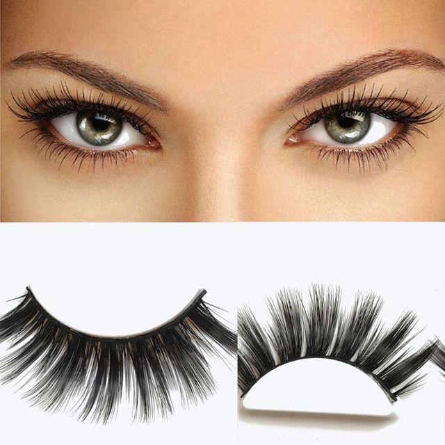 3 Pairs/set Soft 3D Natural Make up Wispy Long Thick Fake Eye Lashes Handmade False Eyelashes Extension Beauty Makeup Tools False Eyelashes