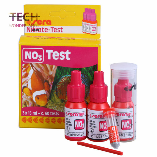 Sera test kit Ca calcium Cu CL KH Mg NH4 NH3 Ammonia NO2 Nitrite NO3 Nitrate PH PO4 O2 GH Fe water test reef tank