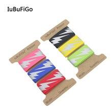 """[Iubufigo] """" 25 мм Предупреждение светоотражающая лента грогрен Сделай Сам лента для банта на волосы для декоративной ленты 3 ярда/лот"""