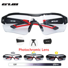 GUB 5600 Men Women Cycling Photochromic Glasses Automatic discoloration Bike goggles Outdoor
