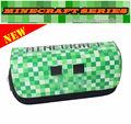 Hot Minecraft brinquedo Estojo, JJ Trepadeira Enderman Lápis caso modelo, JJ Creeper bolsa da moeda. Presente de natal