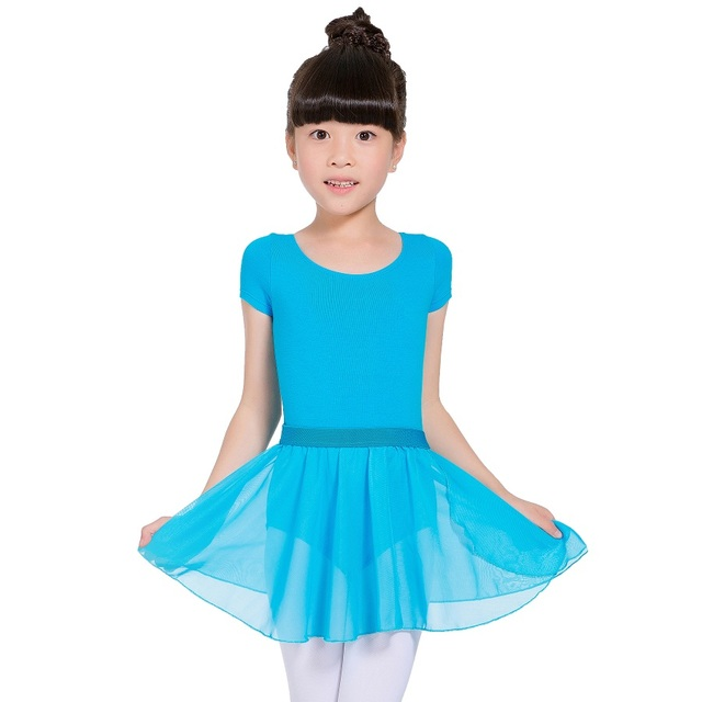 aafbd588274b Aliexpress.com   Buy Short Sleeve leotards girls gymnastics ballet ...