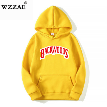 The screw thread cuff Hoodies Streetwear Backwoods Hoodie  1