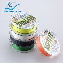 Wholesale100M Multifilament PE Braided Fishing Line Floating Multicolor Super Strong 4 Strands linhas multifilamento para pesca