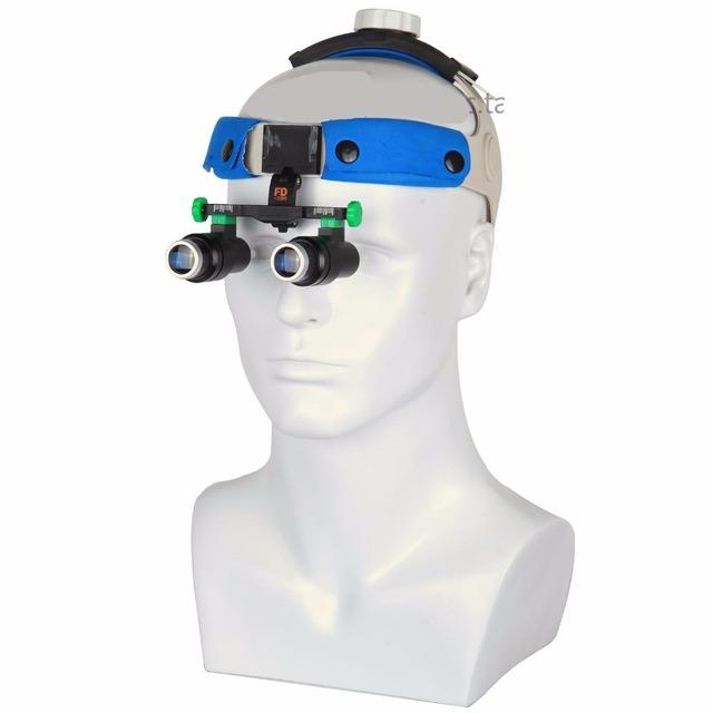 2016 New 4X 5X 6X Tipo Fone de Ouvido tipo Dental Lupas Dentista Médico Cirúrgica Binocular Lupa Lupa Óculos Frete Grátis
