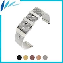 Миланская нержавеющая сталь, ремешок для часов 20 мм, 22 мм, для мужчин и женщин, металлический ремешок на запястье, петля для ремня, браслет, черный, серебристый+ булавка