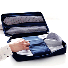 New Arrival Men Business Travel Bag Luggage Shirt Tie Storage Bag Portable Tote Organizer Oxford Bag