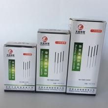Agujas de acupuntura desechables Hualong, 1 tubo, 5000/0,17/0,16/0,18/0,20/0,25/0,30/0,35mm, novedad, Uds./10 cajas