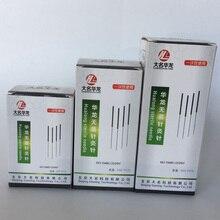 Yeni 5000 adet/10 kutu Hualong tek akupunktur iğneleri 10 iğne tek tüp 0.17/0.16/0.18/0.20/0.25/0.30/0.35mm