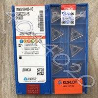 KORLOY TNMG160408-HS PC9030 TNMG332-HS PC9030 10 Uds productos de calidad original nuevo