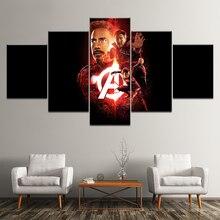 Print Captain America Civil War Iron Man poster children kids decor home decor wall art picture print oil Painting on canvas art свитшот print bar civil war shield