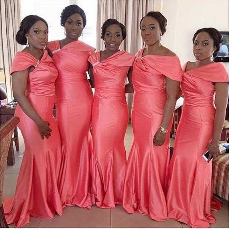 Popular African Fashion Bridesmaid Dresses-Buy Cheap African ...