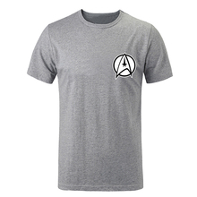 Science Fiction Film Classics Star Trek Crew men short Sleeve Tee Tops Family Fans Party Cosplay Tshirts Spring And Summer Tee