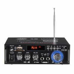 600 Вт домашние Усилители звука Bluetooth разъем Усилитель-сабвуфер усилитель домашний кинотеатр звуковая система мини-усилитель