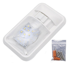 Image 1 - Auto LED Innen Dome Licht Warme Weiße Decke Lampe für 12V Camper Motor Home RV Marine Boot