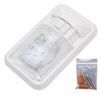 سيارة LED الداخلية مصباح سقف نجفة بيضاء دافئة مصباح ل 12 فولت سيارة تخييم المنزل RV مركبة بحرية