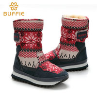 Shool Shoes For Children And Kids Winter Boots Plush Warm Fur Antiskid Outsole Quality Assurance Plus