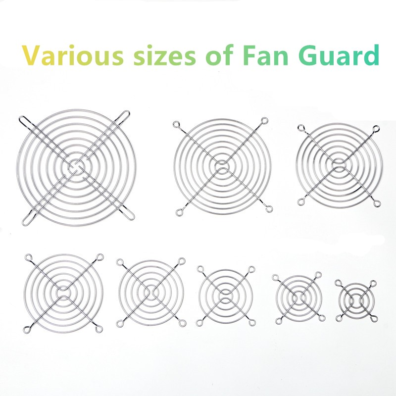 40mm 50mm 60mm 70mm 80mm 90 120mm  Metal Fan Guard Protective Grill for PC Ventilator40mm 50mm 60mm 70mm 80mm 90 120mm  Metal Fan Guard Protective Grill for PC Ventilator