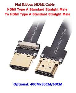 40 см/50 см/60 см Антенна FPV PTZ HDMI гибкий плоский кабель FFC кабель FPV HDMI кабель Стандартный Мужской и мужской прямой