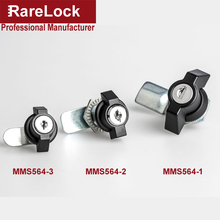 Rarelock MS564 Handle Cabinet Cam Lock for Storage-box Jewelry Case Mail Box Electronic