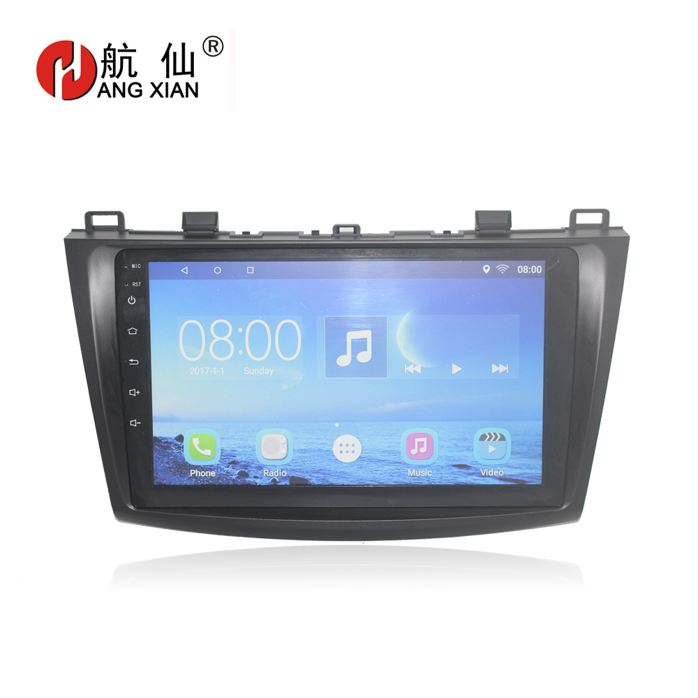 Bway Quadcore Android 7.0 car <font><b>Radio</b></font> for <font><b>Mazda</b></font> <font><b>3</b></font> Axela <font><b>2010</b></font> 2011 2012 2013 Car DVD Player with 1G RAM,16G ROM,gps navigation wifi image