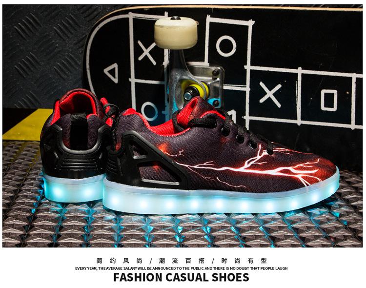 Led Sneakers Lightning 21