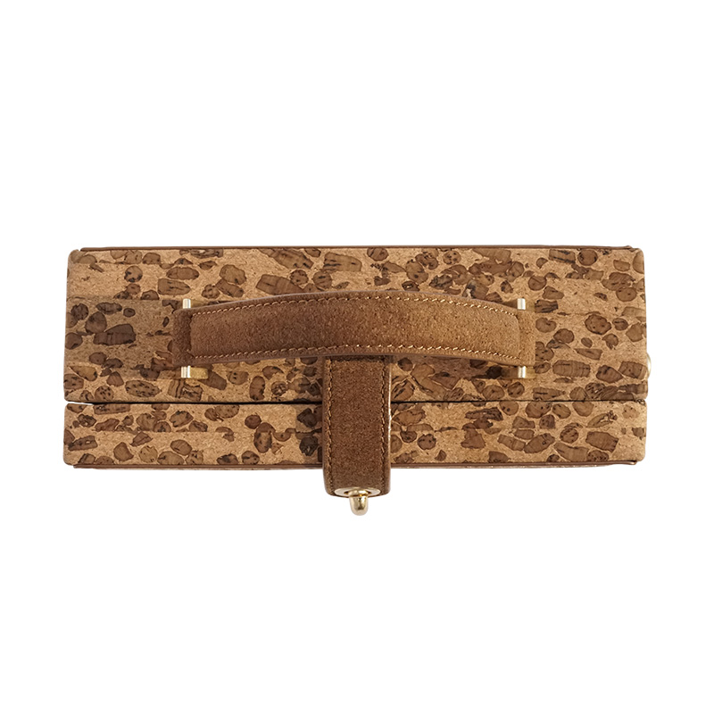 627d1dd9b0 KAOGE Vegan Handmade Luxury Natural cork Vintage Petite Malle zipper Small  Clutch Bags Crossbody Handbags Shoulder Bags baobao-in Top-Handle Bags from  ...