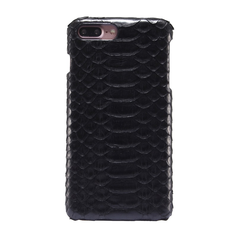 bilder für Natürlichen Realen Echtes Leder Fall Für iPhone 7 Plus Luxus 3D Python Haut Schlange i7 7 Plus Abdeckung Handy fällen
