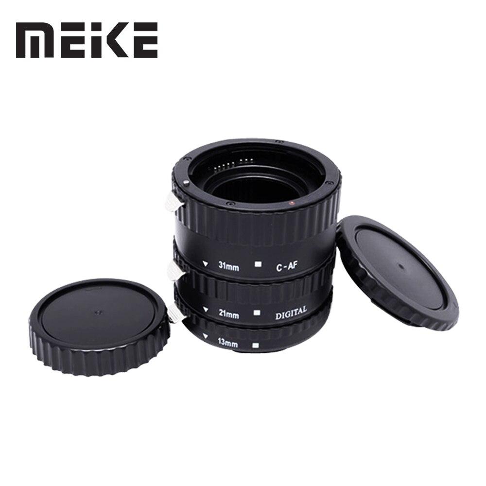 Meike C-AF1-B Auto Focus AF Macro Extension Tube Ring for Canon EOS 600D 450D 70D 60D 7D 6D 5D Mark II III T5i T4i T3i сумка для видеокамеры cst 2015 canon dslr eos 1000d 1100d 600d 550d 60d 450d 40d 7d 5d rebel t2i t3i 4 t5i 250068