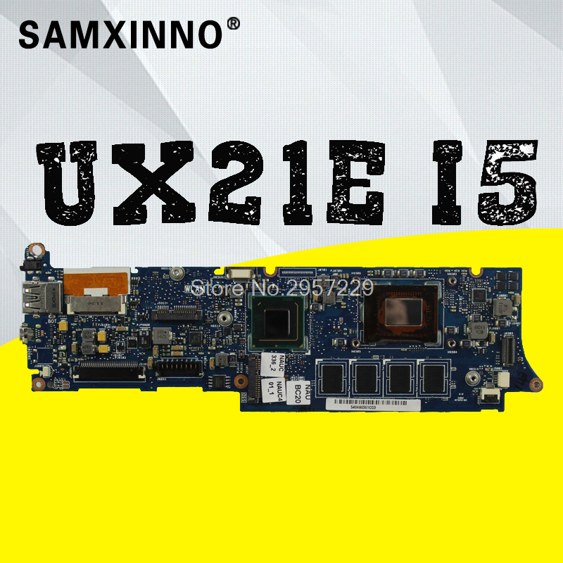 Hot selling UX21E for Asus laptop motherboard mainboard I5-2467m CPU 4G QS67 Chipset USB3.0 with high quality 100% test S-6 ux21e for asus laptop motherboard mainboard i3 cpu 4g qs67 chipset usb3 0 with 100% tested