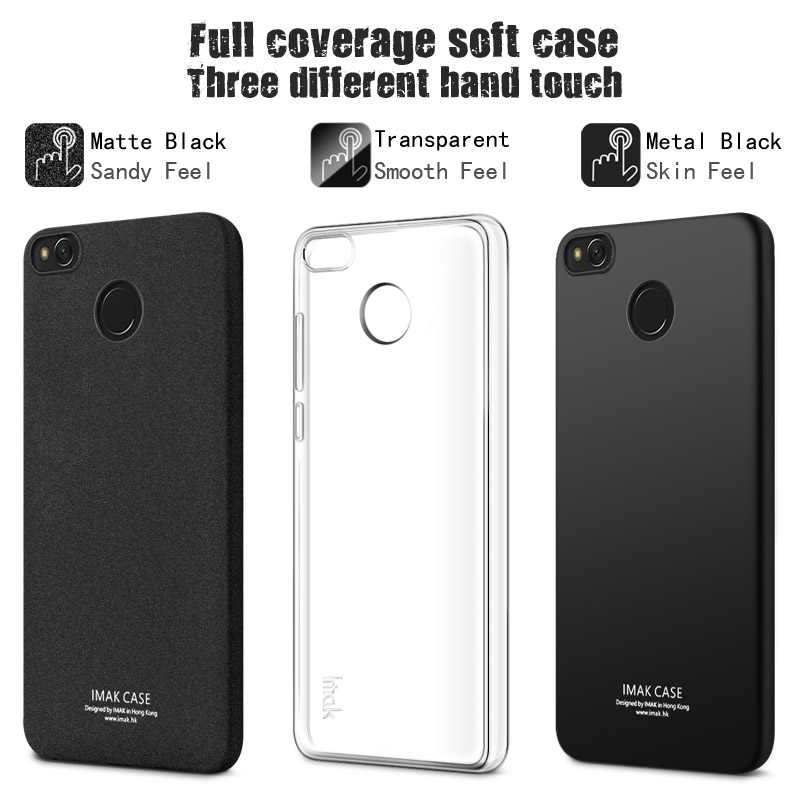 size 40 66029 0a178 US $6.06 5% OFF|IMAK Soft TPU Gel Clear Case For Xiaomi Redmi 4X with  screen protector Slim Phone silicone Back Cover For Redmi 4X Redmi 4 X-in  Fitted ...