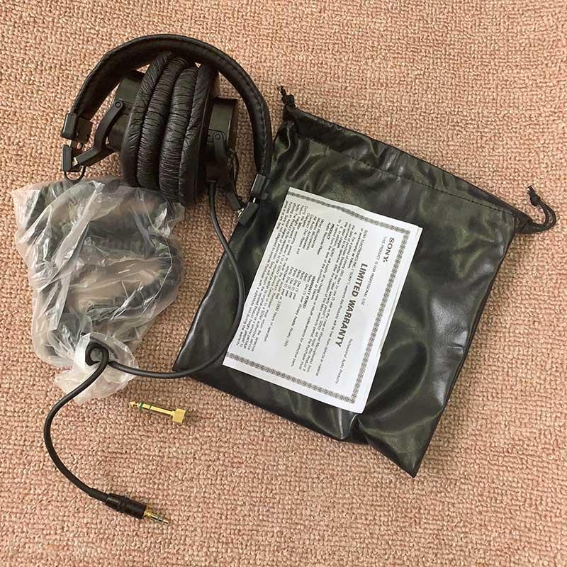 Original Sony sur l'oreille casque casque inclus DJ moniteur bruit annuler écouteur 3.5 MM/6.3 MM pour Xperia XZ3 Iphone SAMSUNG - 5