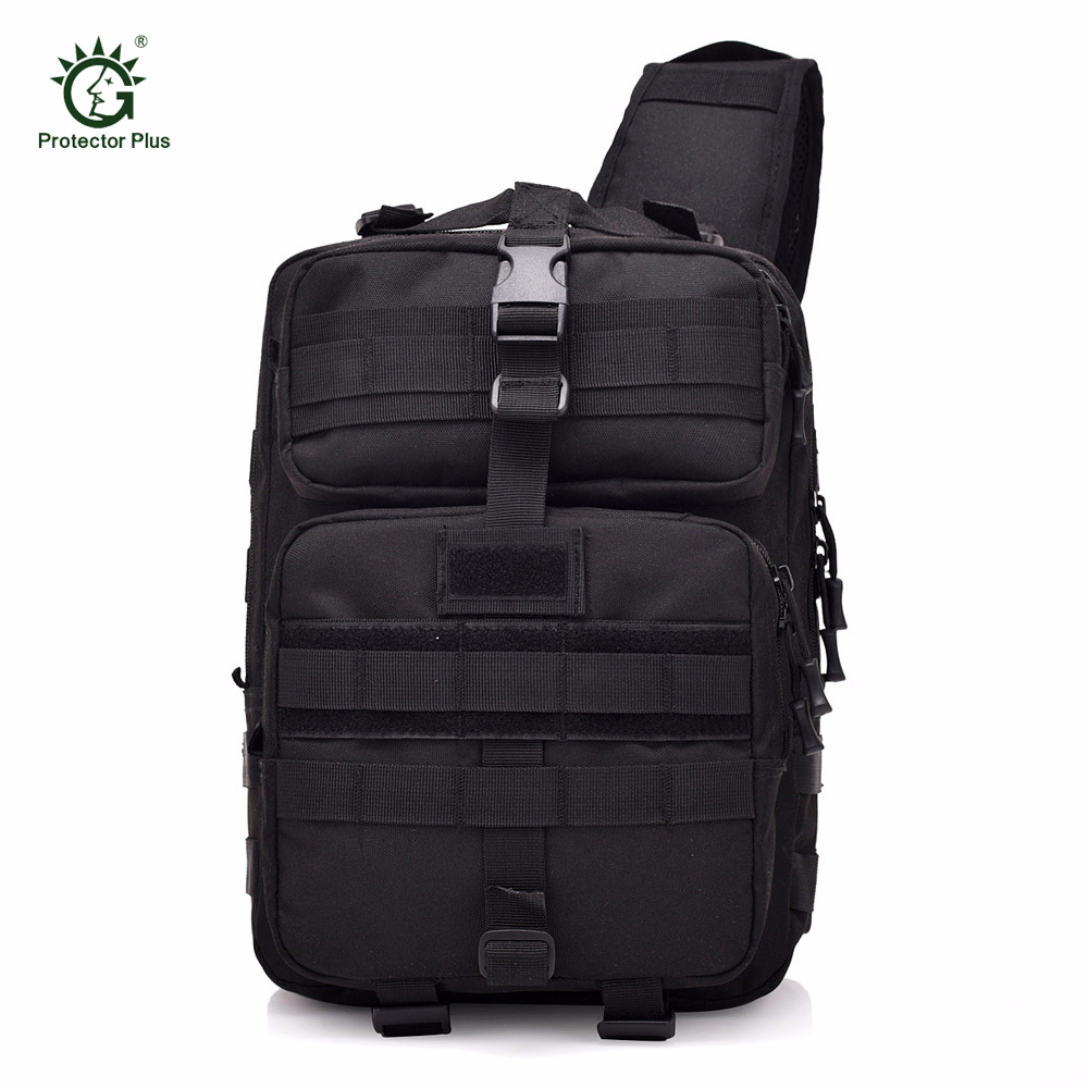 Jungle Archer sac à dos tactique sac à dos sport Camping en plein air en Nylon Wading poitrine Pack fronde unique épaule militaire sac à dos