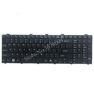 Image 3 - 新usキーボード富士通lifebook AH530 AH531 NH751 A530 A531黒英語ノートパソコンのキーボード