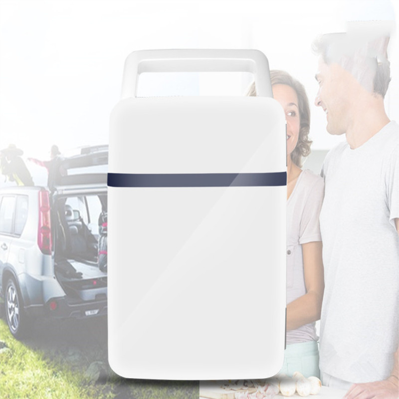 10L Mini Refrigerator Heating Cooler Box Home Car Dual-purpose Portable Fridge Camping  Milk Refrigerator And Silence Type