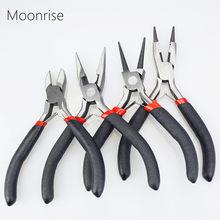 58552bf65749 Alicates de la joyería herramientas y equipos Kit aguja larga nariz redonda  corte alicates de alambre para la fabricación de la .