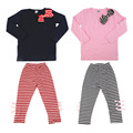 New Autumn Spring Kids Baby Girld 2pcs Infant Clothing Set Long Sleeve T-Shirt+ Long Pants Fashionable Design Child' Good Gift