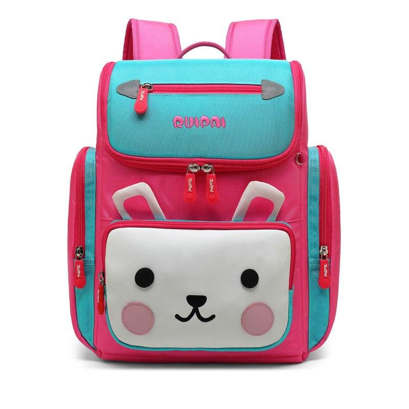 Ruipai chaud nouveau dessin animé mignon filles sacs d'école sac à dos d'école pour les filles étanche porter école sac à dos sac a dos scolaire