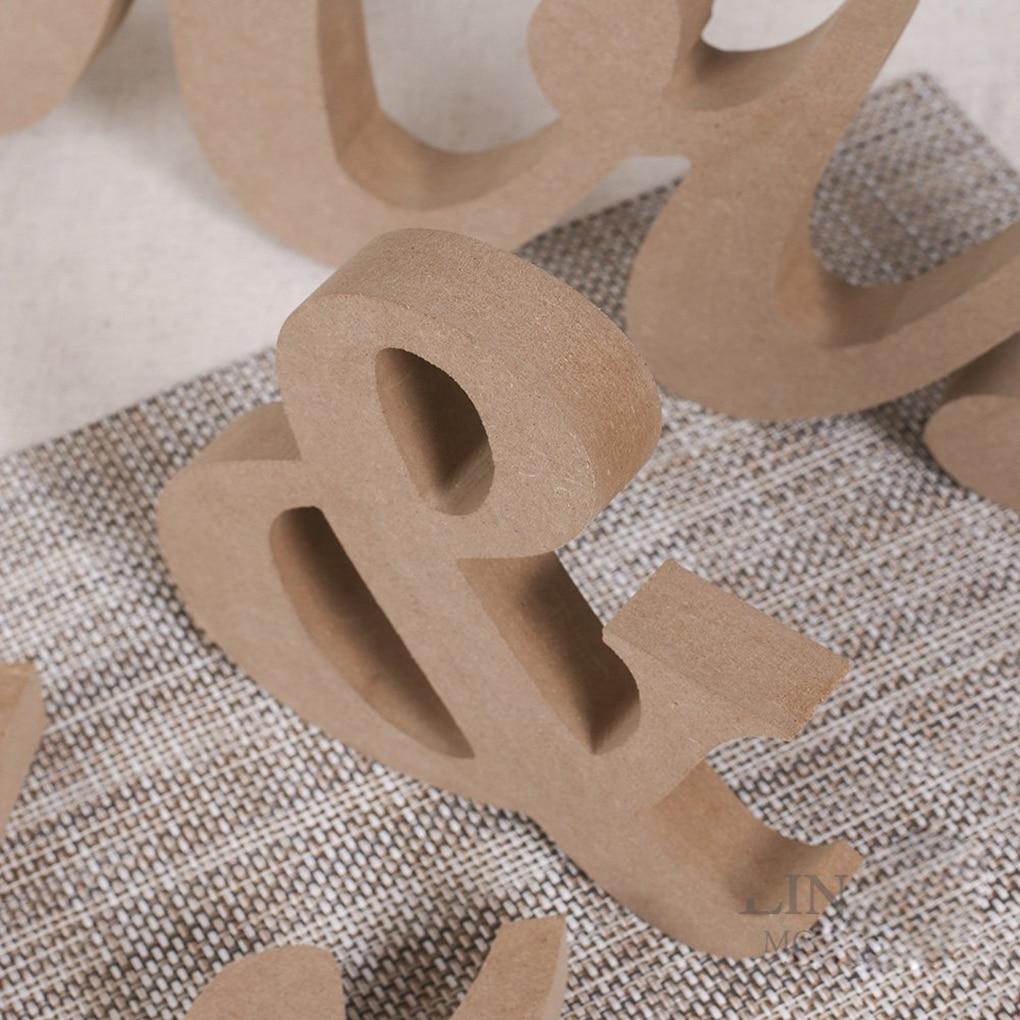 Neue Ankunft Holz Hochzeit Requisiten Mr Und Frau Buchstaben ...