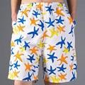 Звезды Модели Мужские Пляжные Шорты 2015 Плюс 3XL Совет Шорты Бермуды Случайные Шорты Пляжная Одежда