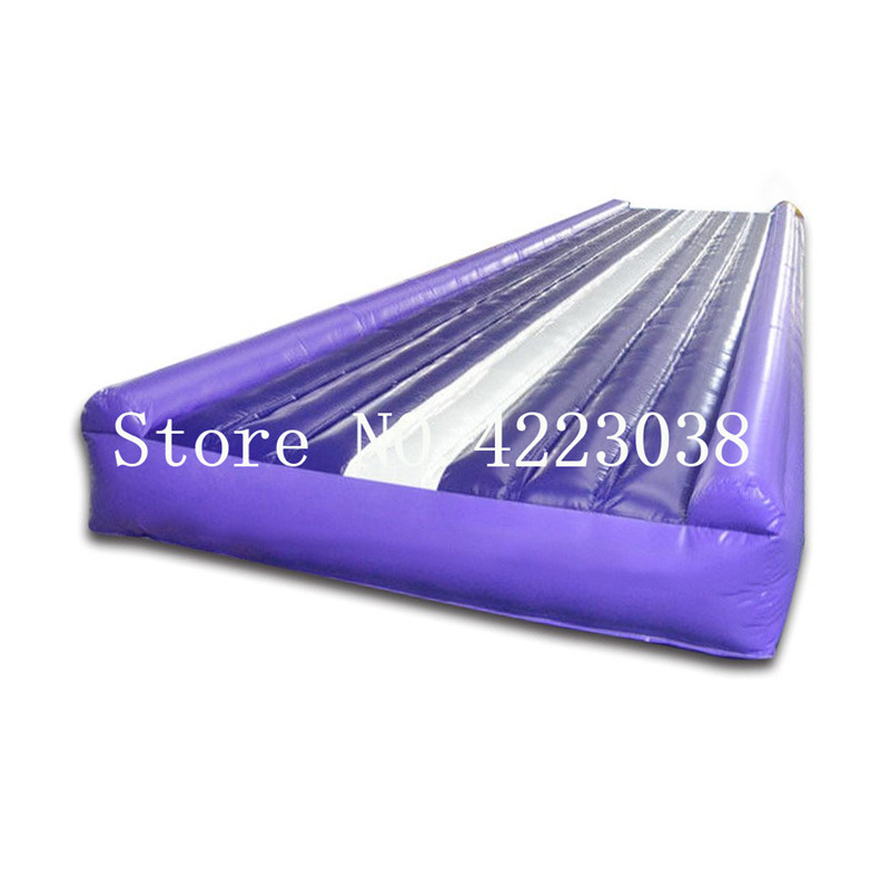 Free Shipping 10m Inflatable Air Tumble Track Inflatable gym Tumble Track for use in gymnastics, cheerleading,general fitnesFree Shipping 10m Inflatable Air Tumble Track Inflatable gym Tumble Track for use in gymnastics, cheerleading,general fitnes