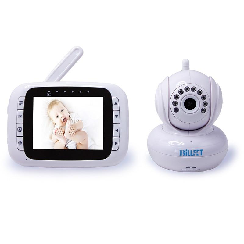 video baby monitor wireless remote control radio communicator 3 5 baby monitor video nanny. Black Bedroom Furniture Sets. Home Design Ideas