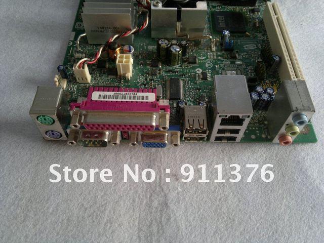 for Intel Desktop motherboard D945GCLF2D Integrated Intel Atom Processor - 330 1.6 GHz  desktop mainboard LGA 755 free shipping